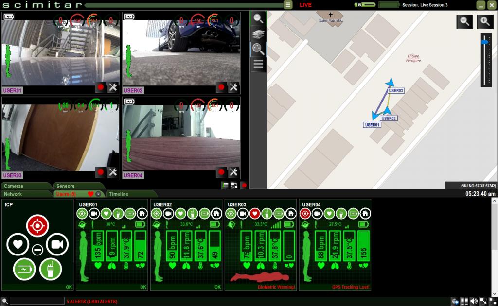 Scimitar Tactical Screen
